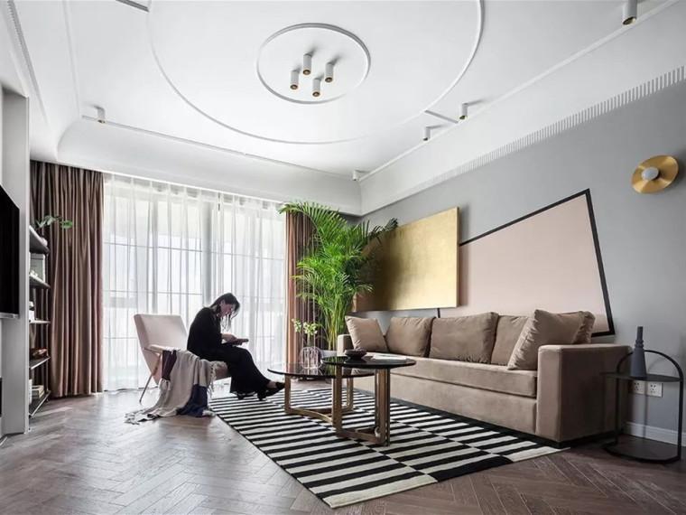 充满现代法式风格的居住空间