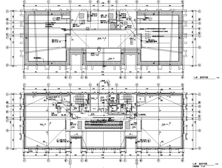 北京石景山高层商业办公楼电气施工图