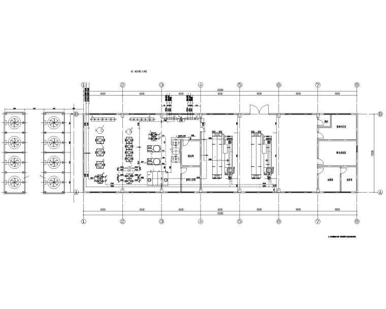 河南机场南航港务区直燃机房项目设计施工图