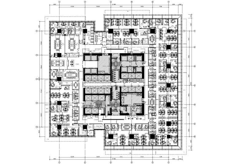 [上海]历峰集团上海嘉里中心办公室施工图