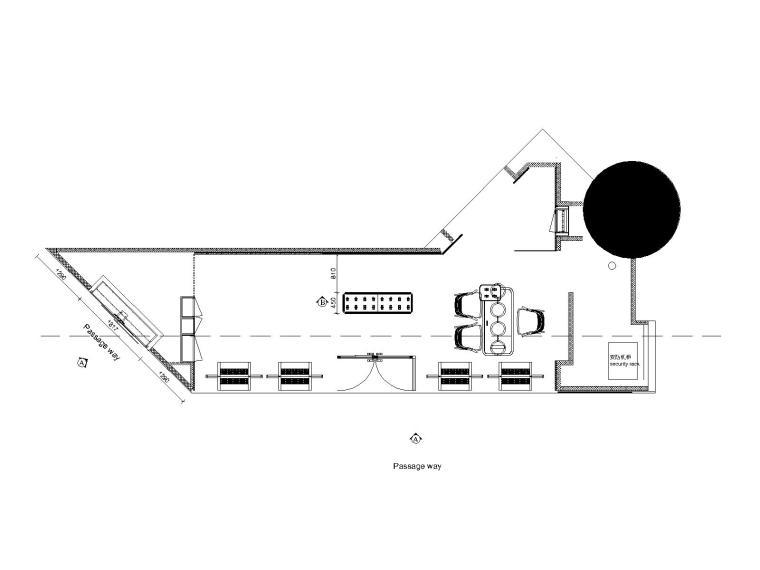 [北京]意大利Panerai北京国贸店施工图