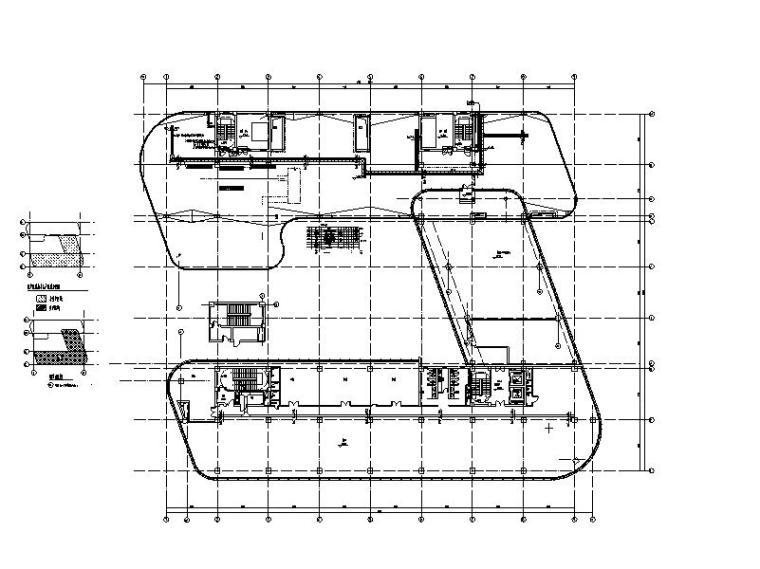 制药车间抗震支架系统结构布置及节点图2018
