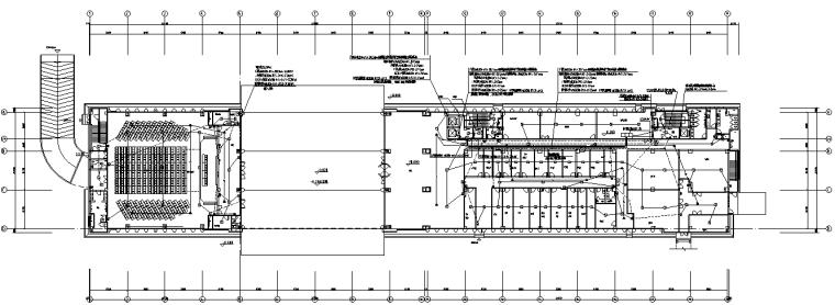安徽特警综合指挥楼及配套建筑电气施工图