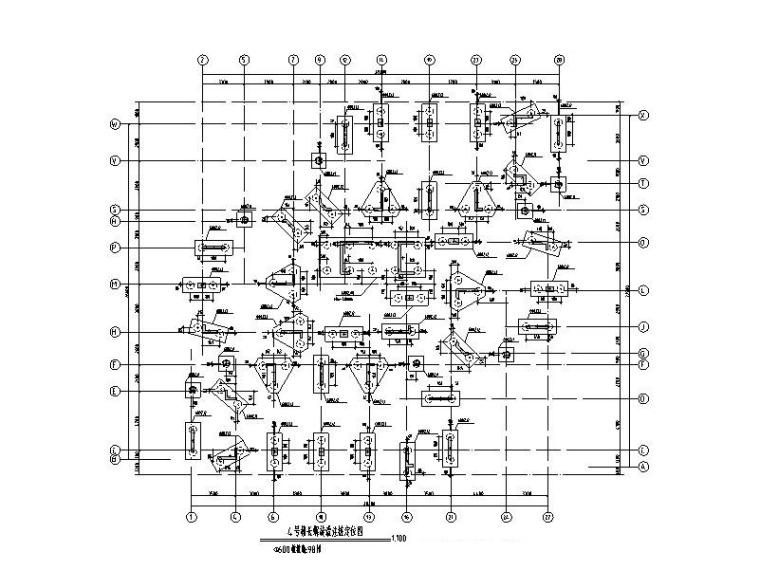 11层框剪住宅楼结构施工图(长螺旋灌注桩)
