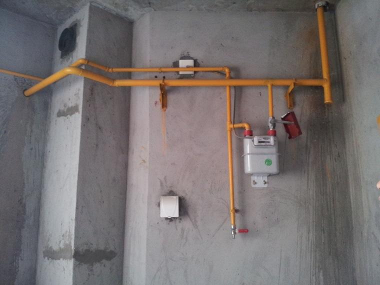 室内燃气管道安装