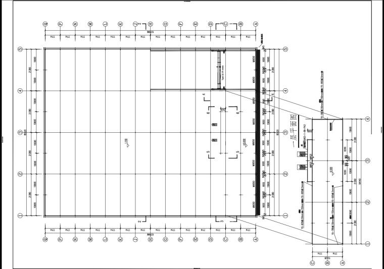 钢结构厂房工程建筑施工图(完整版)