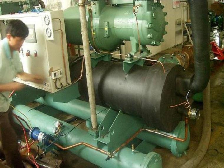 制冷设备系统安装施工工艺标准