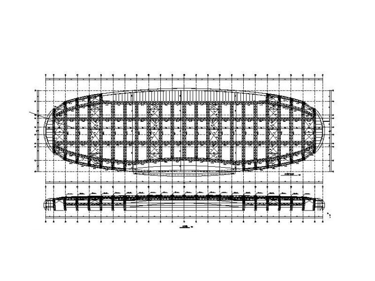 钢框架结构会展中心扩建项目结构施工图
