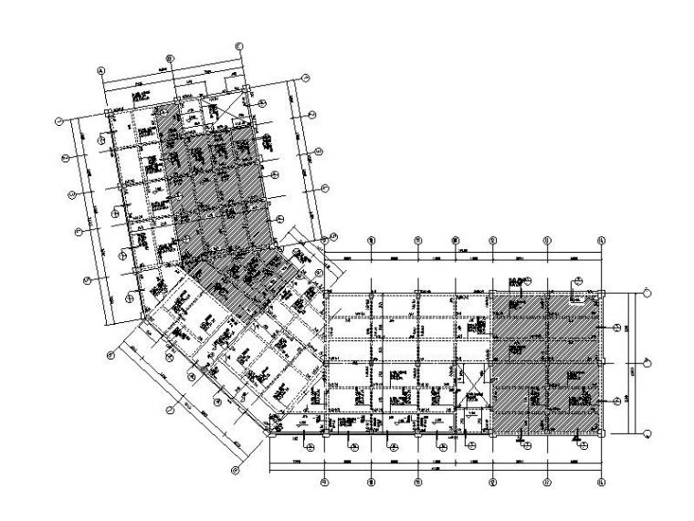 3层框架结构商业楼结构施工图(含建筑图)