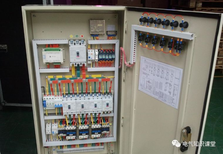 配电箱系统图字母都代表什么意思?