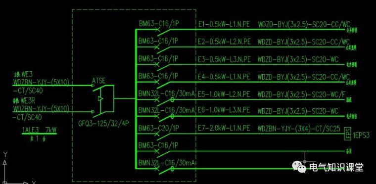 配电箱系统图字母都代表什么意思?_6