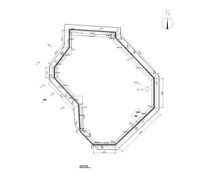 某商住区基坑支护工程结构施工图2013