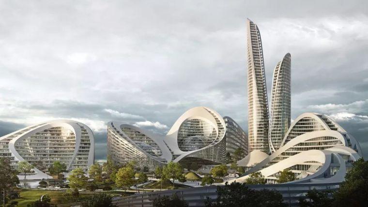 扎哈新作:建筑与艺术的完美融合