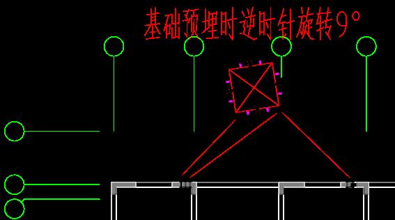 南京住宅项目塔吊安装拆除安全专项施工方案-31 10#楼平面图