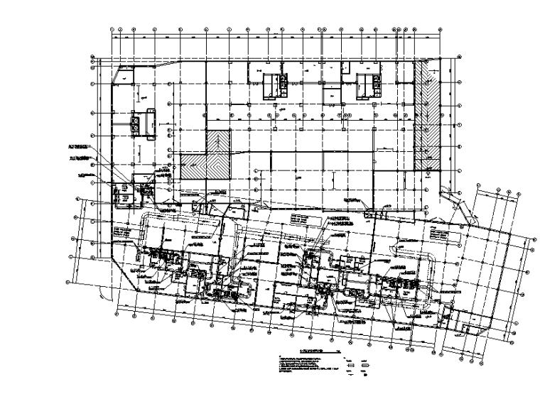 住宅小区人防地下室暖通施工图