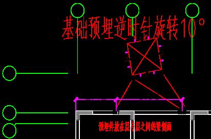 南京住宅项目塔吊安装拆除安全专项施工方案-31 11#楼平面图
