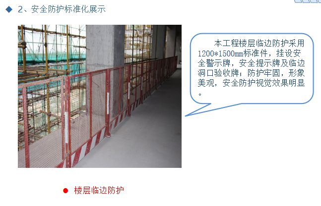 施工现场安全生产标准化优秀做法汇报PPT_13