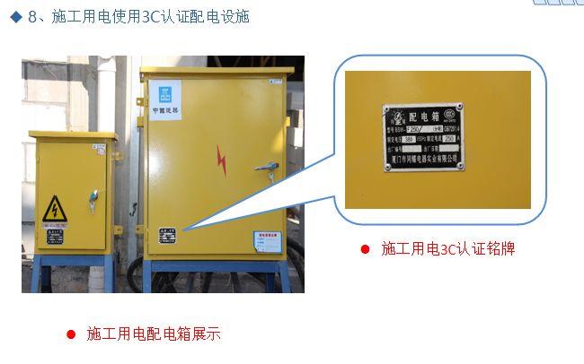 施工现场安全生产标准化优秀做法汇报PPT_25