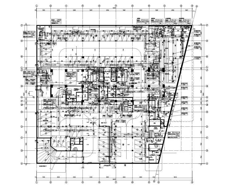 上海二十层酒店空调通风系统设计施工图