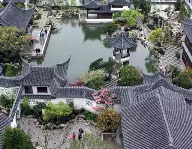 古典园林设计|中国古典园林的10种构图法