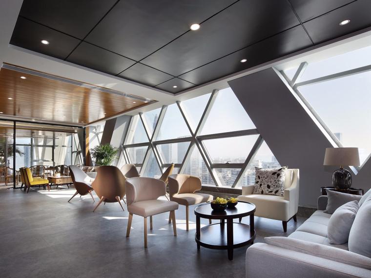 深圳现代简约风格的办公空间