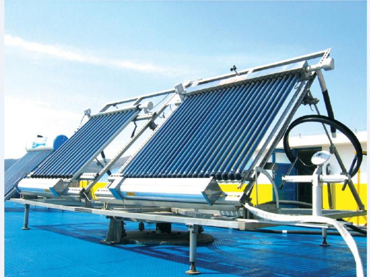 太阳能热水设备及管道安装