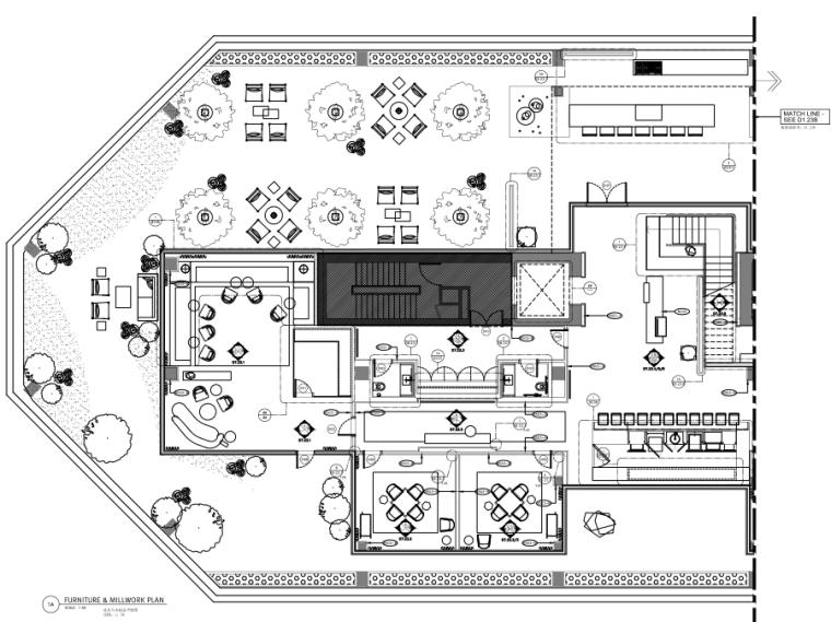 [Yabu雅布]北京梵悦·108顶层会所全套施工图