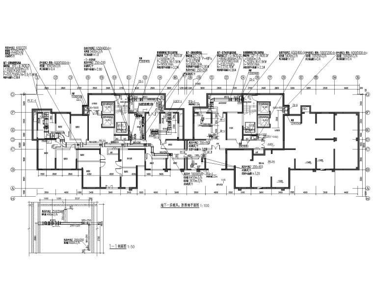 二十四层住宅楼暖通设计施工图(2019设计)