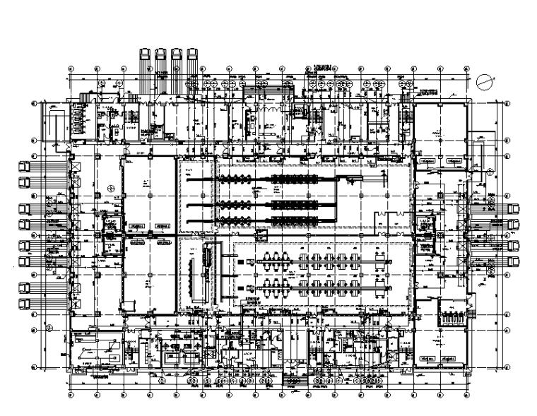 贵州电商物流园中央大厨房给排水施工图
