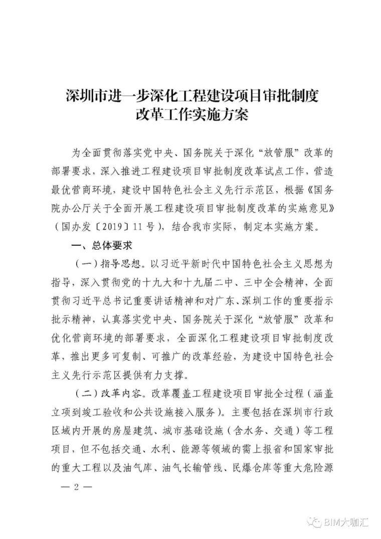 深圳取消图审,建立BIM审批平台,精简优化_2