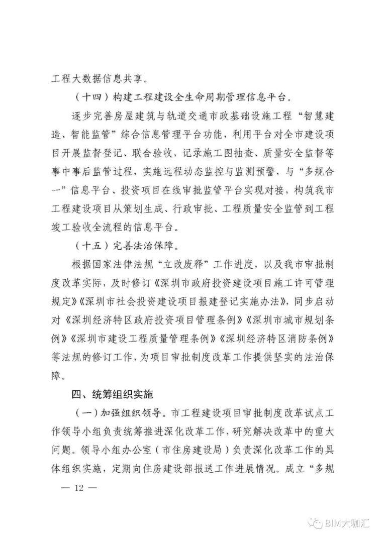 深圳取消图审,建立BIM审批平台,精简优化_12