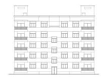 [陕西]西安某小区住宅节能设计建筑施工图