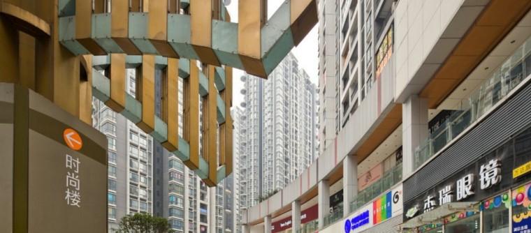 [重庆]南坪万达广场建筑模型设计