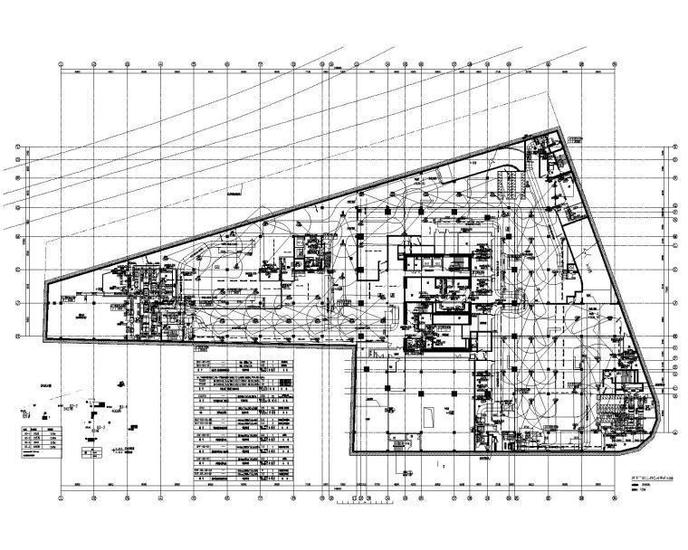 二十九层办公楼空调机房锅炉房换热站施工图