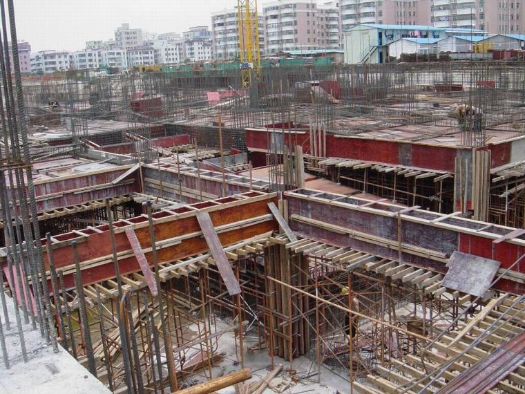全套教学楼建筑结构施工图(框架结构)