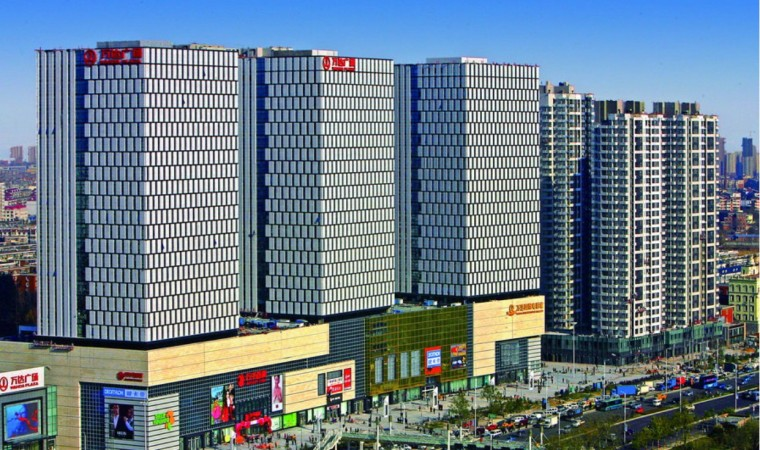 [天津]万达广场建筑模型设计