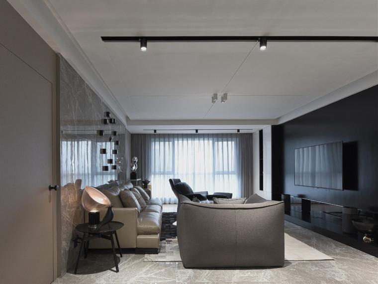 充满现代简约风格的住宅