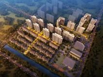 [安徽]新中式风格叠拼洋房高层住宅建筑方