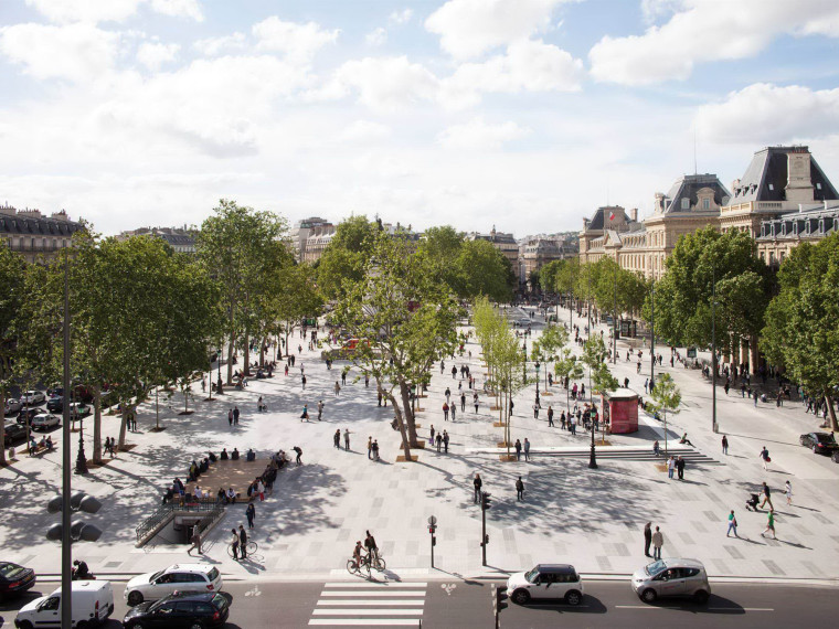 法国共和广场