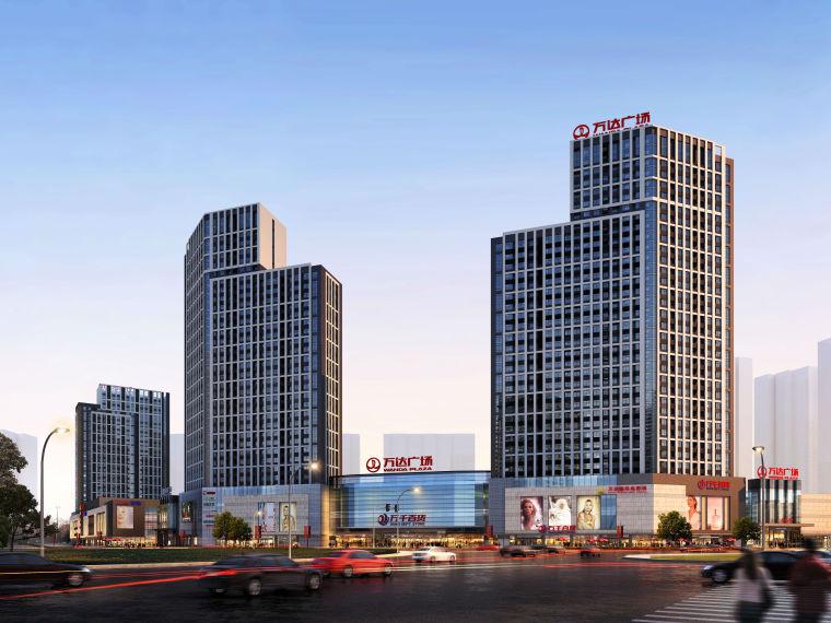 [安徽]现代风格商业广场建筑模型设计