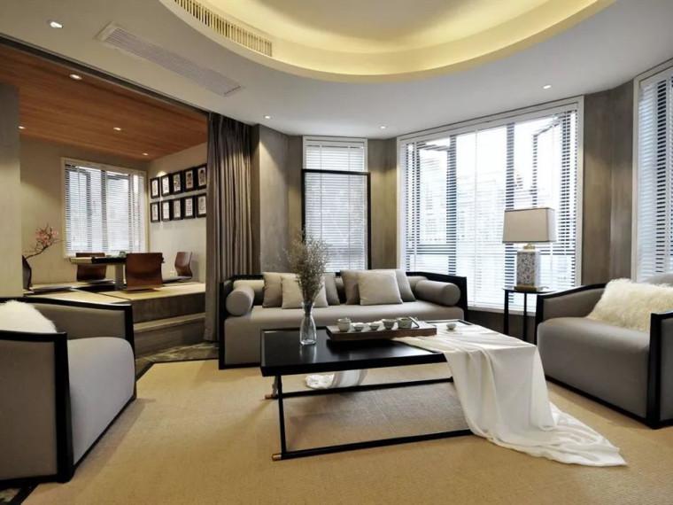 充满现代新中式风格的居住空间