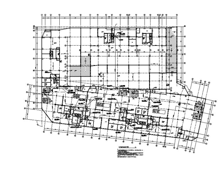 住宅小区地下室给排水施工图(含人防)