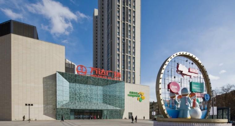 [吉林]红旗街万达广场建筑模型设计