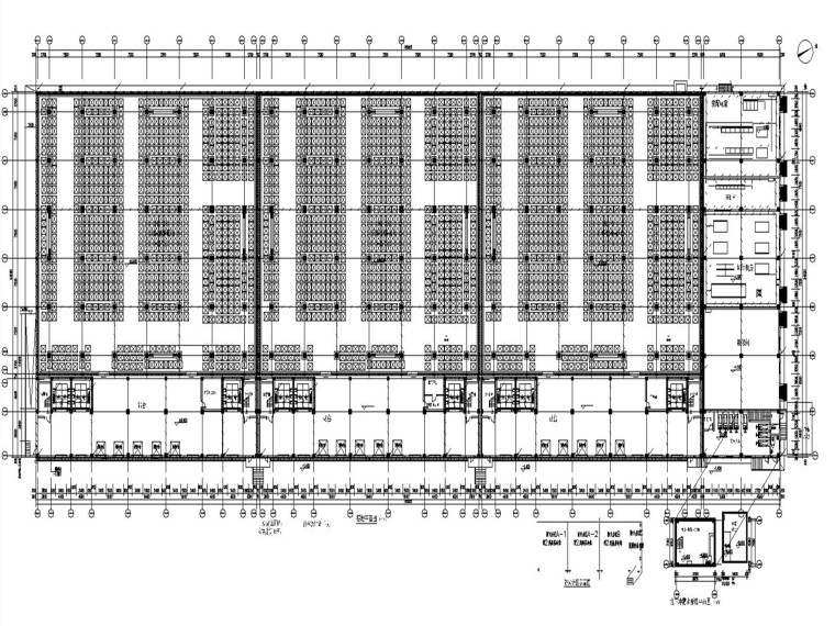 电商物流产业园冷库电气施工图