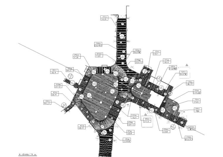 上海瑞虹公园式购物中心全套施工图+效果图