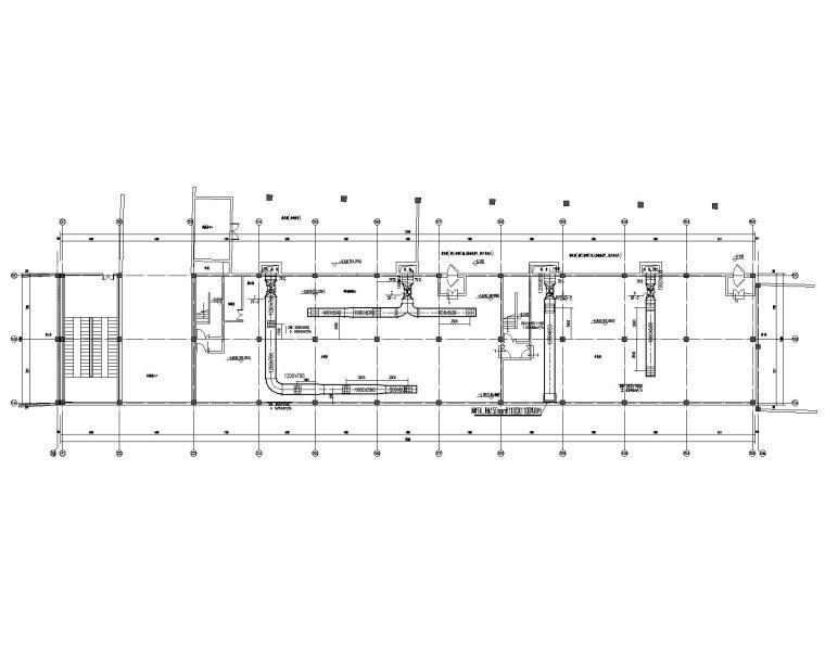 十栋小商业楼的地暖及通风设计施工图