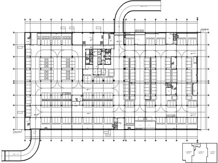 物流产业园-电商孵化楼-电气设计