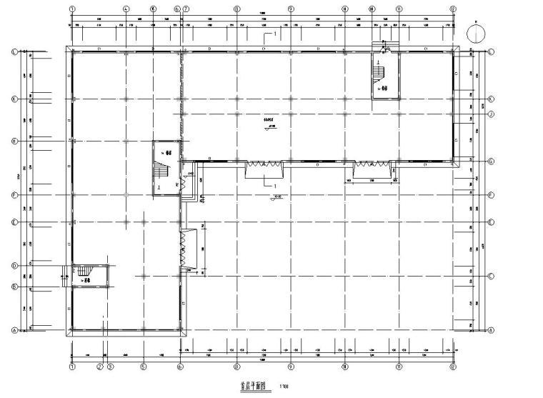 宿舍建筑户型住宅楼设计图