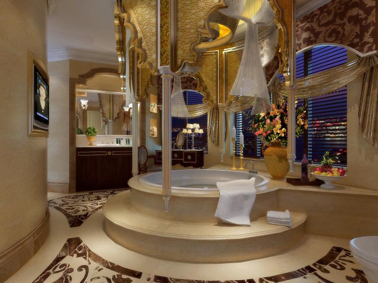 欧式总统浴室