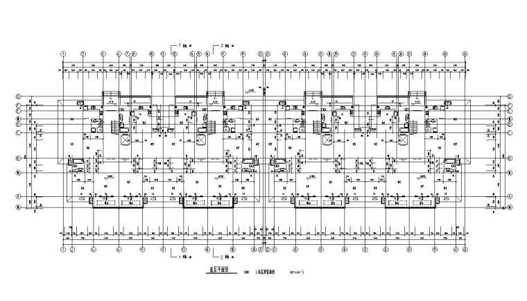 12层小高层住宅楼建筑户型设计图